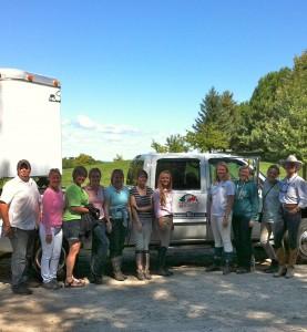 The families of Brek-n-Ridge Farm 2013